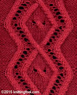 List All Knitting Stitches : Alpha Stitch List - W